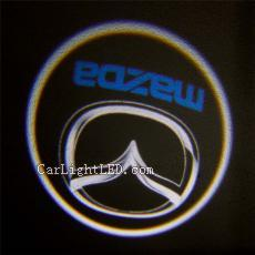 2010-2015 MAZDA ATENZA Car door bulb courtesy laser projector light LED Logo Light Ghost Shadow Lamp