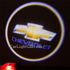 Led Auto Logo For Chverolet CAPTIVA Car Welcome Light Door Projector Laser Ghost Shadow Lights Lamp Universal