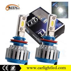 KEEN DC 8-48V 35W 9005 Led Headlights Bulb Kit 3500LM White 9006 H11 for Car Fog Lamp