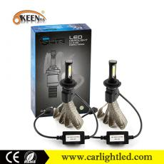 KEEN DC 9-36V 36W 4000LM M6P H4 COB Led Headlight Bulb H7 Auto Headlamp All in One Kit 6000K for all cars