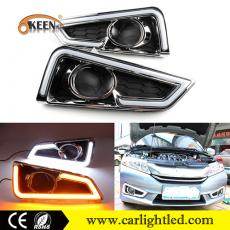 KEEN 12V Waterproof Led DRL Fog Lamp for Honda City 2015-2016 Daytime Running lights