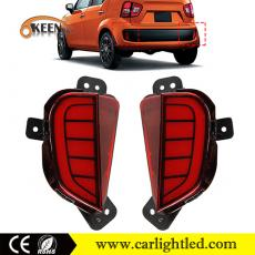 KEEN High Quality Suzuki Ignis LED Rear Bumper Reflector Brake and Stop Lamp Tail Light Waterproof IP67